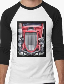 Hotrod Men's Baseball ¾ T-Shirt