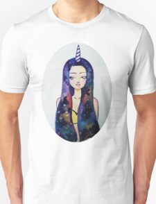 Unicorn Galaxy Unisex T-Shirt
