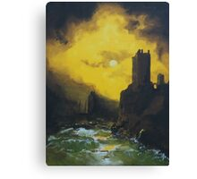 Wreck in the Gorge Canvas Print