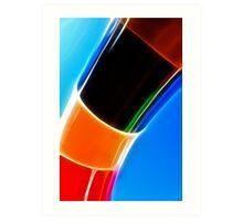 Pipe Colours Art Print