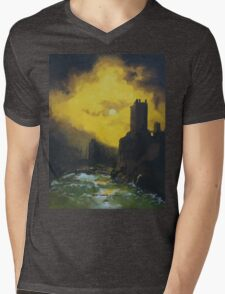 Wreck in the Gorge Mens V-Neck T-Shirt