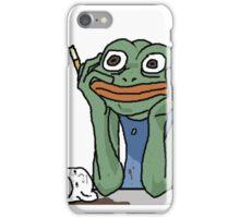 Stress Pepe iPhone Case/Skin