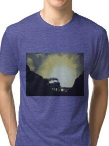 Last Train Tri-blend T-Shirt