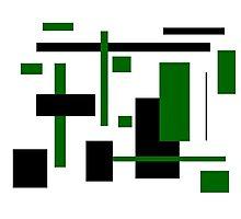 Rectangular Pattern 7 Photographic Print