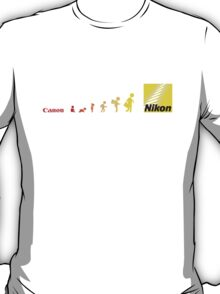 Nikon vs Canon T-Shirt