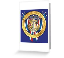 Columbia Security Coat of Arms Greeting Card