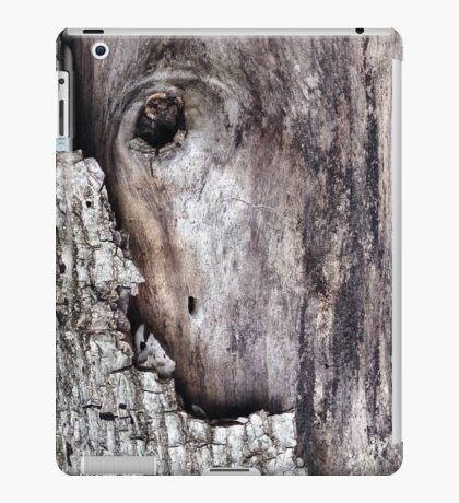 wood cortex iPad Case/Skin