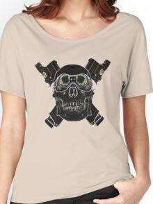 Skulls and Guns Women's Relaxed Fit T-Shirt