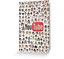 YouTubers Greeting Card
