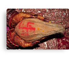 Hindu Bride Canvas Print