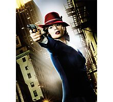 Agent Carter Photographic Print