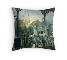 Vacation Afterglow Throw Pillow