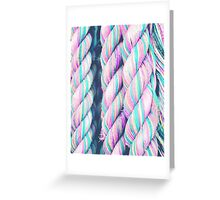 Candy Ropes Greeting Card