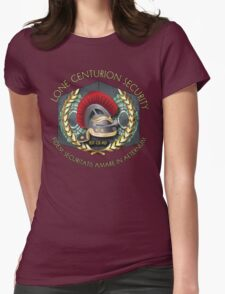 Lone Centurion Security Womens Fitted T-Shirt