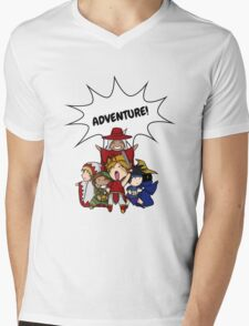 Final Fantasy Adventure Mens V-Neck T-Shirt