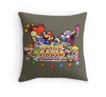 Paper Mario: The Thousand Year Door Throw Pillow
