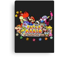 Paper Mario: The Thousand Year Door Canvas Print