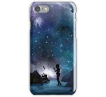 Neverland at Night iPhone Case/Skin