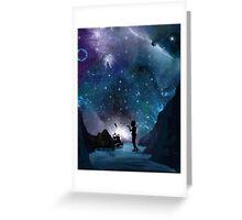 Neverland at Night Greeting Card