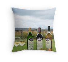 Fine Wine Triplet Throw Pillow