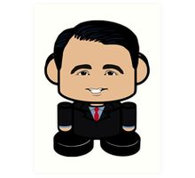 Scott Walker Politico'bot Toy Robot 1.0 Art Print