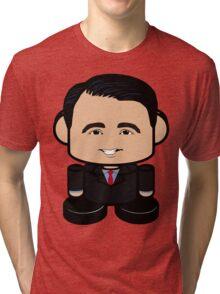 Scott Walker Politico'bot Toy Robot 1.0 Tri-blend T-Shirt