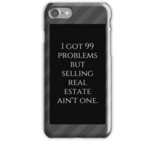 99 Problems (grey) iPhone Case/Skin