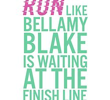 Bellamy Blake is at the Finish Line by nikitamears