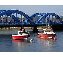 Rhyl Harbour Photographic Print