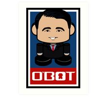 Scott Walker Politico'bot Toy Robot 2.0 Art Print