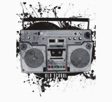 old school boom box by EskimoGraphics