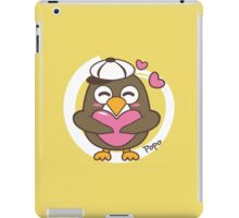 Cartoon penguin popo iPad Case/Skin