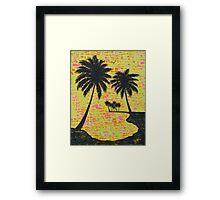 """Palm Sunday"" Framed Print"