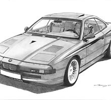 BMW 8 Series - B12 5.7 Alpina by Steve Pearcy