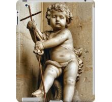 YOUNG JESUS STATUE iPad Case/Skin