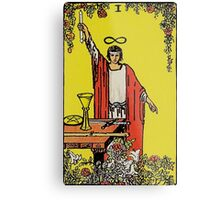 The Magician Tarot Metal Print