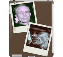 Ed Gein Double Photo Stack iPad Case/Skin