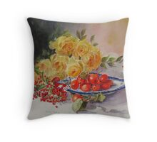 One berry or two Throw Pillow
