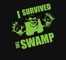I Survived the Swamp - Black Tee Unisex T-Shirt