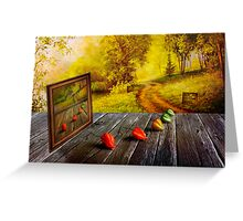 Nature Exhibition Greeting Card