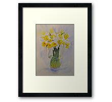 Spring of course! Framed Print