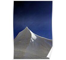 Snow Plow Mountain Poster