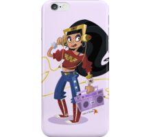 Hip Hop Wonder Woman iPhone Case/Skin