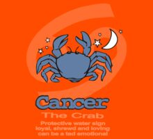 Cancer the Crab Kids Tee
