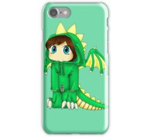 Rawr (Green Version) iPhone Case/Skin