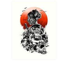 The day of sakura Art Print