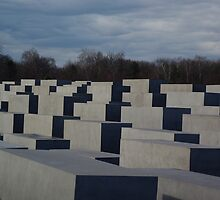 Memorial to the Murdered Jews of Europe by Lorraine Bratis