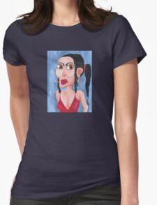 Sandra in her sexy singlet T-Shirt