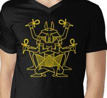 Anubis Rising Mens V-Neck T-Shirt