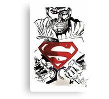 Cyborg Superman Canvas Print